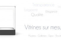 Fabrication de Vitrines Design en Plexiglas