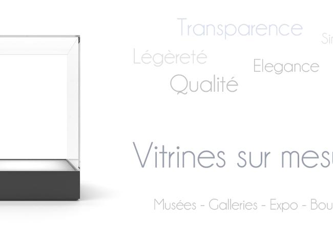 Fabrication de Vitrines Design en Plexiglas