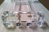 Fabrication Piano Plexiglas